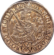½ Thaler - Johann Georg I – reverse