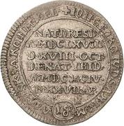 1 Groschen - Johann Georg IV. (Death) – obverse