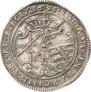 ⅛ Thaler - Friedrich August I. – reverse