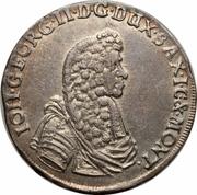 ⅔ Thaler, 1 Gulden - Johann Georg II – obverse