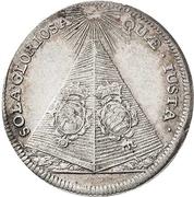 ⅓ Thaler - Johann Georg IV. (Death) – reverse