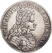 ⅓ Thaler - Friedrich August I. – obverse