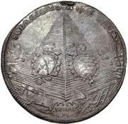1 Thaler - Johann Georg IV. (Death) – reverse