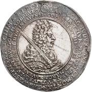 1 Thaler - Johann Georg IV. (Death) – obverse