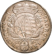 ⅙ Thaler - Friedrich August I. – reverse