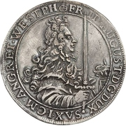 ½ Thaler - Friedrich August I. – obverse
