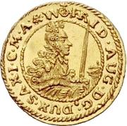 ¼ Ducat - Friedrich August I. – obverse