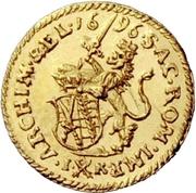 ¼ Ducat - Friedrich August I. – reverse