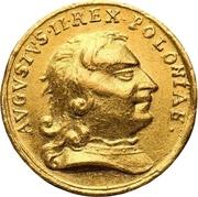 ½ Ducat - Friedrich August I. (Coronation) – obverse