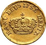 ½ Ducat - Friedrich August I. (Coronation) – reverse