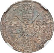 ⅔ Thaler - Johann Georg IV – reverse