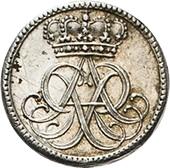 ½ Ducat - Friedrich August I. (Silver pattern strike) – obverse