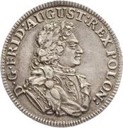 ⅙ Thaler - Friedrich August I. (Cosel-Sechstel) – obverse