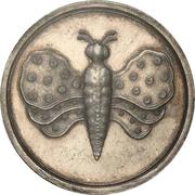 16 Groschen - Friedrich August I. (1/2 Schmetterlingstaler) – reverse
