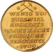 1 Ducat - Friedrich August I. (Ausbeute) – reverse