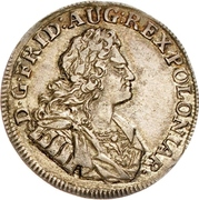 ⅙ Thaler - Friedrich August I. – obverse