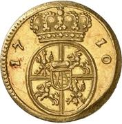 ½ Ducat - Friedrich August I. – reverse