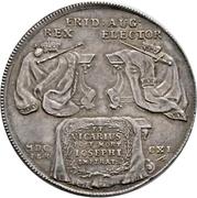 2 Thaler - Friedrich August I. (Vicariat) – reverse