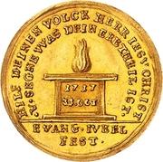 1 Ducat - Friedrich August I. (Reformation) – reverse
