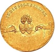 1 Ducat - Friedrich August I. (Marriage) – reverse