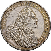 2 Thaler - Friedrich August I. (Death) – obverse