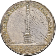 2 Thaler - Friedrich August I. (Death) – reverse