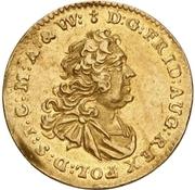 ½ Ducat - Friedrich August II. – obverse