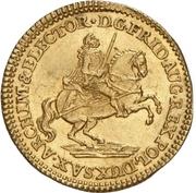 1 Ducat - Friedrich August II. (Vicariat) – obverse