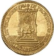 1 Ducat - Friedrich August II. (Vicariat) – reverse