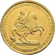 1 Ducat - Friedrich August II. – obverse