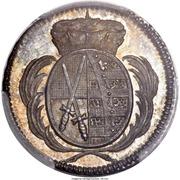 1 Pfennig - Friedrich August III (Silver pattern strike) – obverse