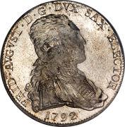 ⅔ Thaler - Friedrich August III – obverse