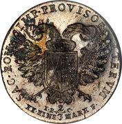 ⅔ Thaler - Friedrich August III – reverse