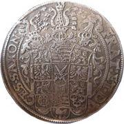 1 Thaler - Christian II, Johann-Georg and Augustus - Three Brothers Thaler – reverse