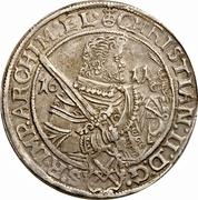 1 Thaler - Christian II, Johann Georg I, & August – obverse