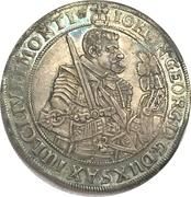 1 Thaler - Johann Georg I – obverse