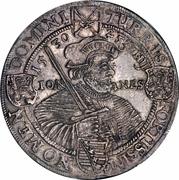 1 Thaler - Johann Georg I (Augsburg Confession) – reverse