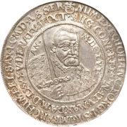 1 Thaler - Johann Georg I (Death of Johann Georg I) – obverse