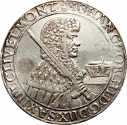 1 Thaler - Johann Georg II – obverse