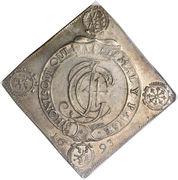 1 Thaler - Johann Georg IV (Order of the Garter) – obverse