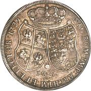 1 Thaler - Friedrich August II – reverse