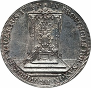 1 Thaler - Friedrich August II (Vicariat Issue) – reverse