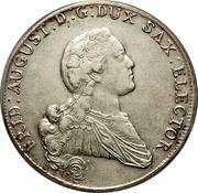 1 Conventionsthaler - Friedrich August – obverse
