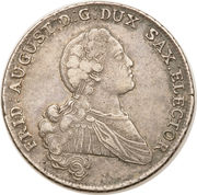 1 Conventionsthaler - Friedrich August III -  obverse