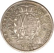 1 Conventionsthaler - Friedrich August III – reverse
