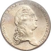 1 Conventionsthaler - Friedrich August III – obverse