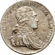 1 Conventionsthaler - Friedrich August III -  obverse