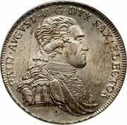 1 Thaler - Friedrich August III. (Ausbeute) – obverse