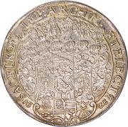 1½ Thaler - Johann Georg I. – reverse