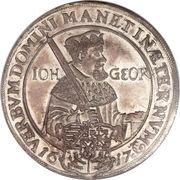 2 Thaler - Johann Georg I (Protestant Reformation) – obverse